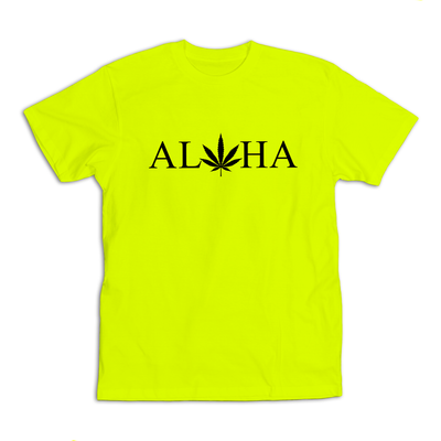 Buti Groove Pakaloha T-Shirt High Vis Safety Green