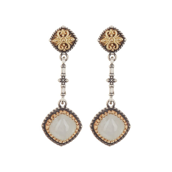 Konstantino - SS/18K Labradorite Earrings, SKKJ559-115
