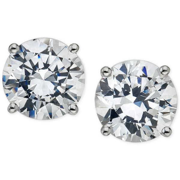14K WG 0.16CTW IJ I1 DIAMOND STUD EARRINGS