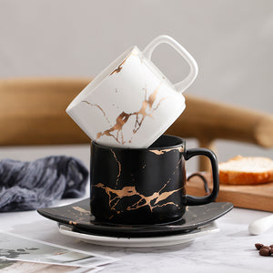 Electric Marble Coffee Cup