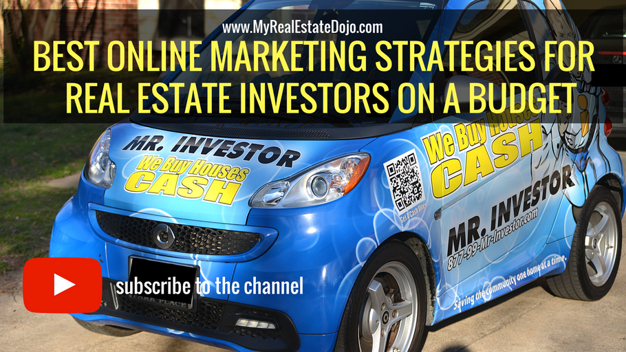 Best Online Marketing Strategies for Real Estate Investors with a Limited budget
