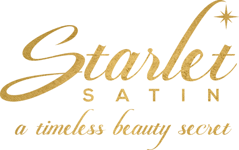Starlet Satin Pillowcases, a timeless beauty secret, logo