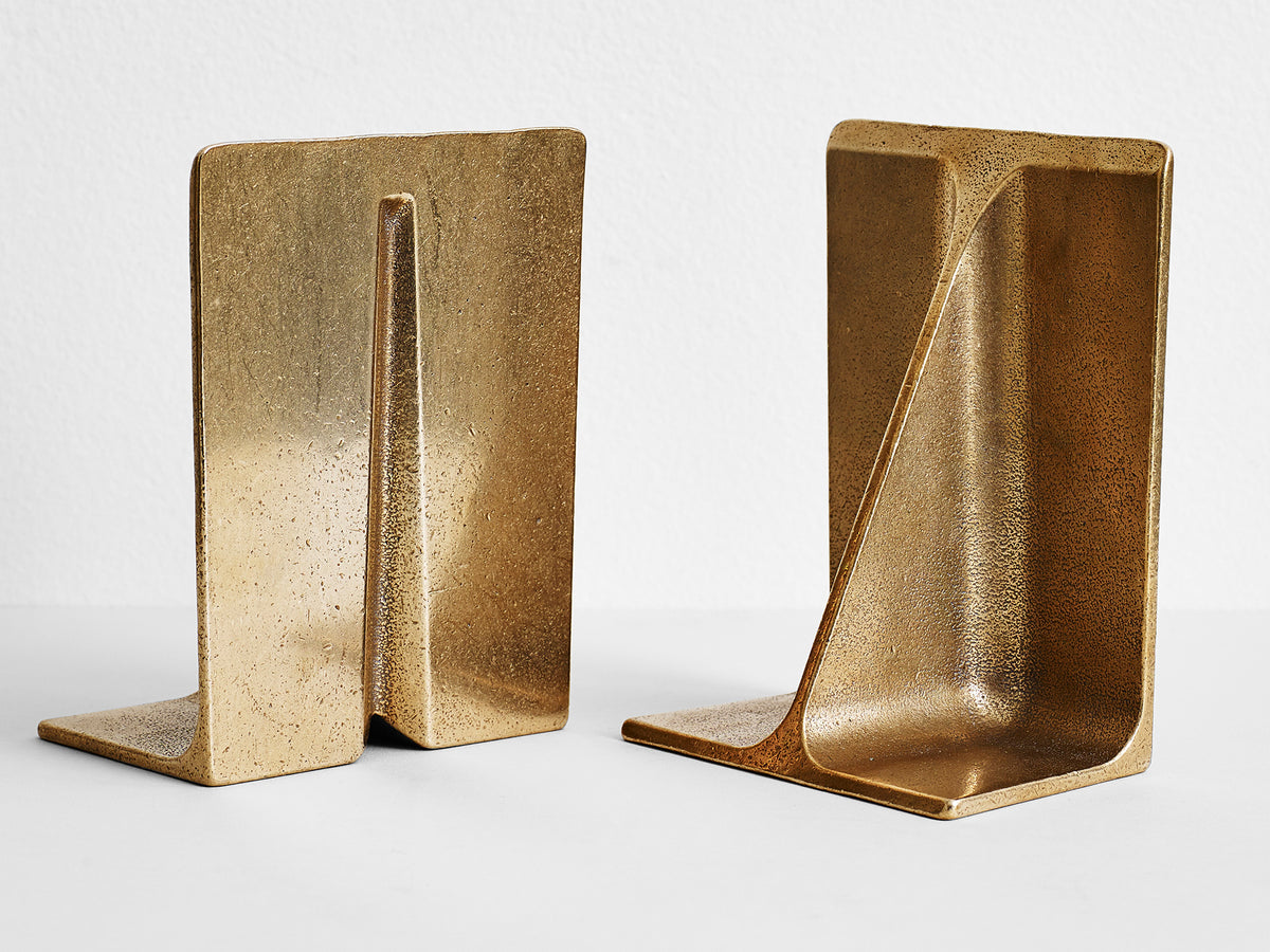 Fin Bookends Large