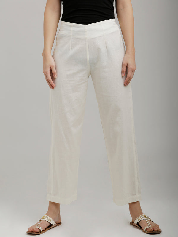 Off White Parallel Pants