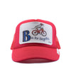 B Is For Bicycles Trucker Hat - Patch