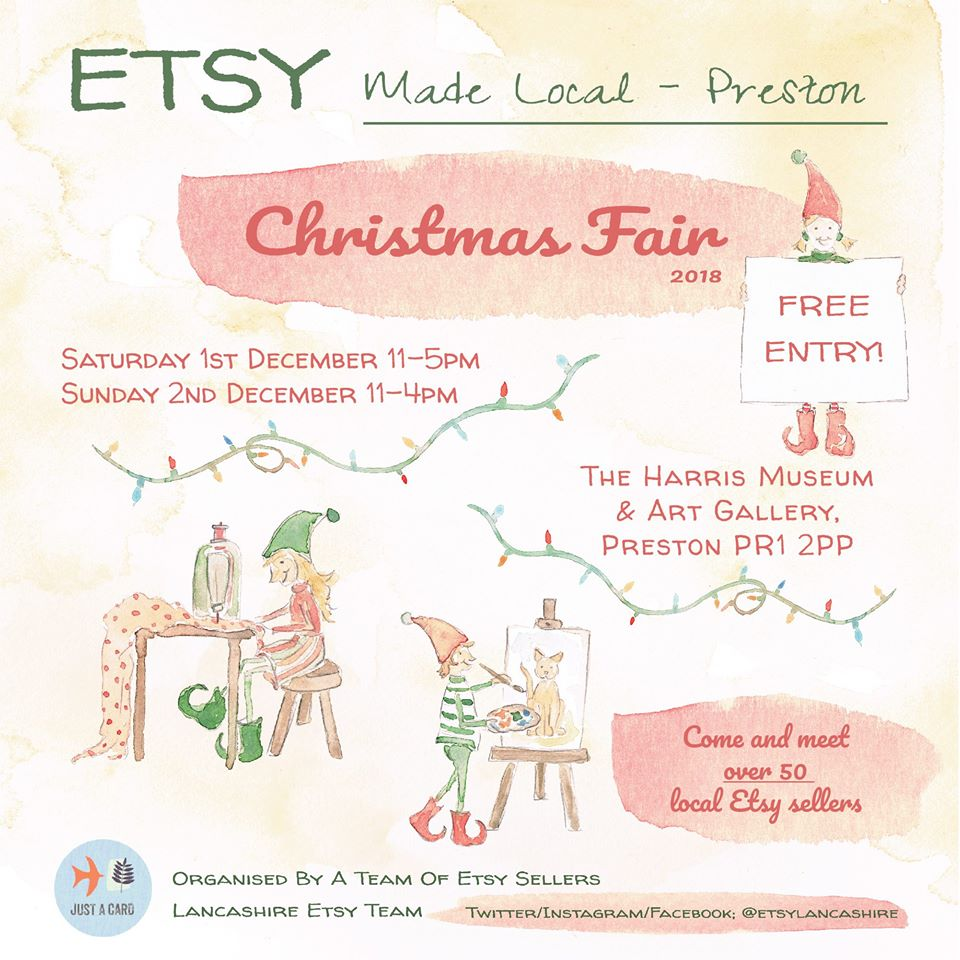 Etsy Made Local -Preston Christmas Fair 2018