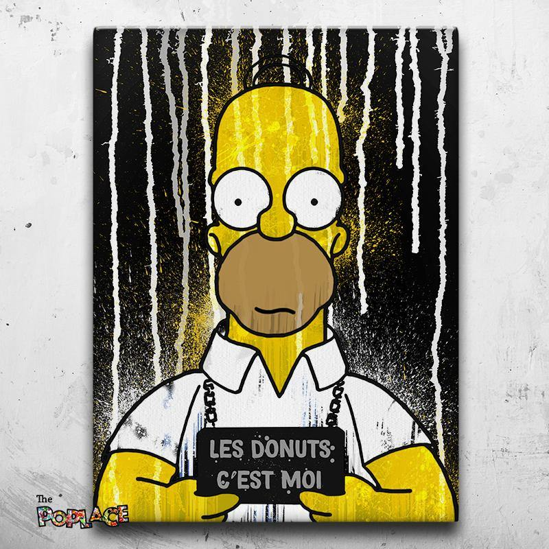 Tableau HOMER SIMPSON COUPABLE B