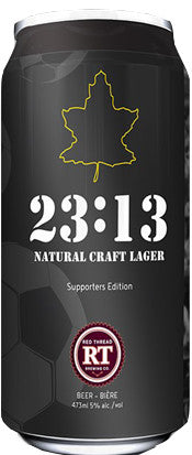 23:13 All-Natural Craft Lager