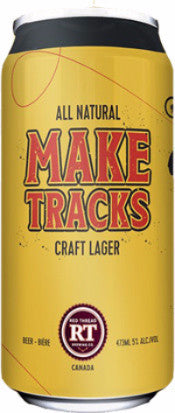 Make Tracks All-Natural Craft Lager