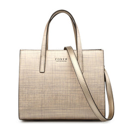 FOXER  Luxury Tote Bags  Classic High Quality
