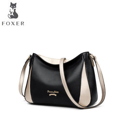 FOXER 2019 new brand women Genuine leather