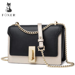 FOXER  Fashion Small luxury Messenger Bags
