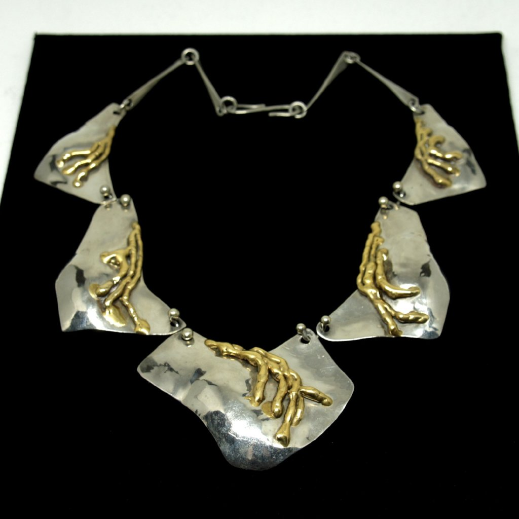 Joseph Boris Necklace - Mixed Metals - Modernist