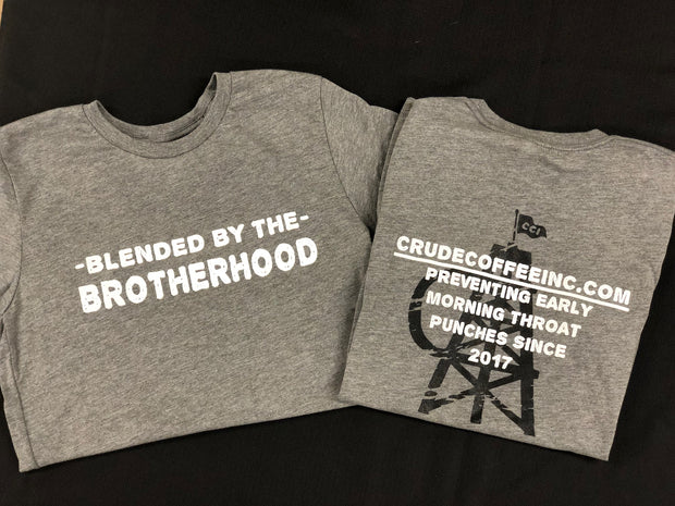 """Blended By"" Gray Short Sleeve Tee"