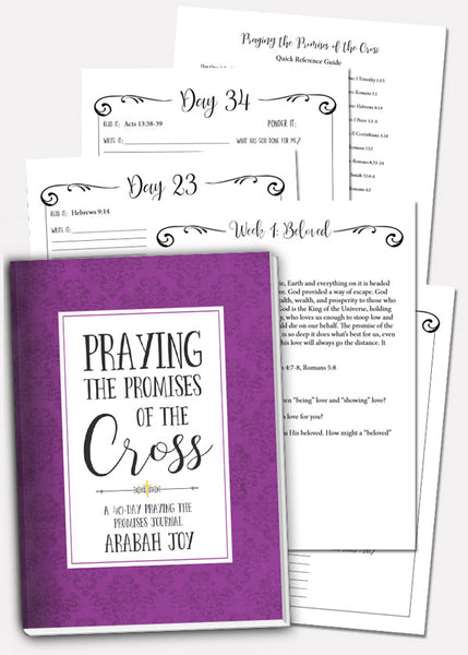Praying the Promises of the Cross {Updated Edition}