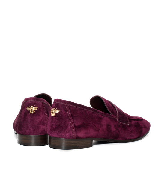 Suede Loafer Bordeaux - EXCLUSIVE