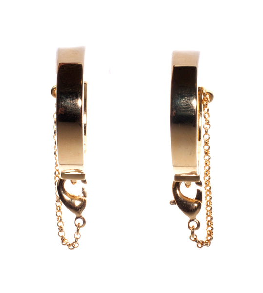 Safety Chain Earring