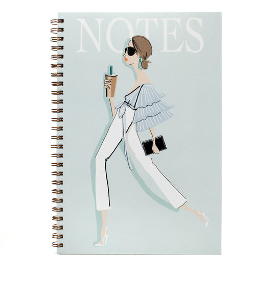 Iced Latte Lover Notebook