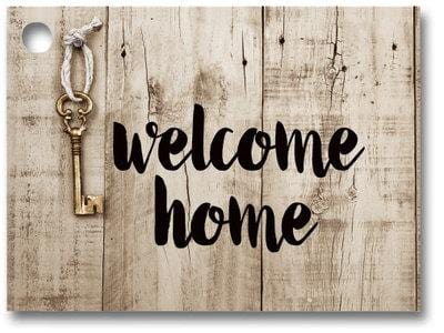 Rustic Welcome Home Popcorn Gift Card