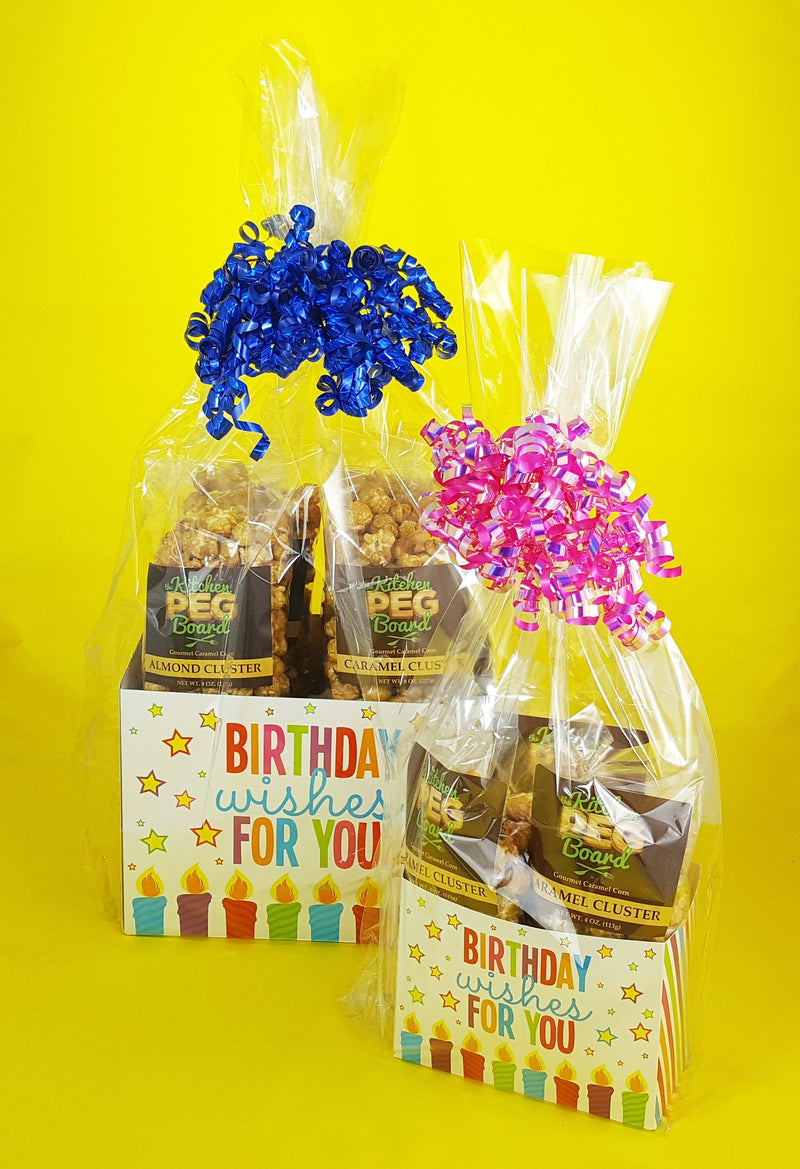 Birthday Wishes Popcorn Gift Basket