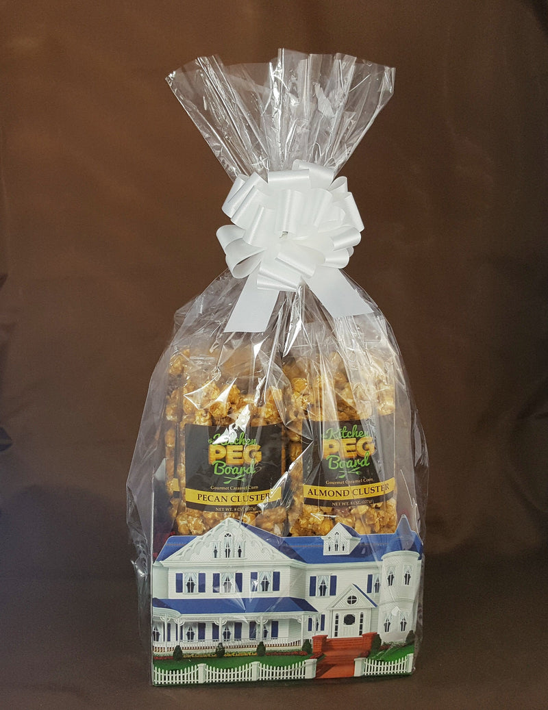 Home Sweet Home Popcorn Gift Basket