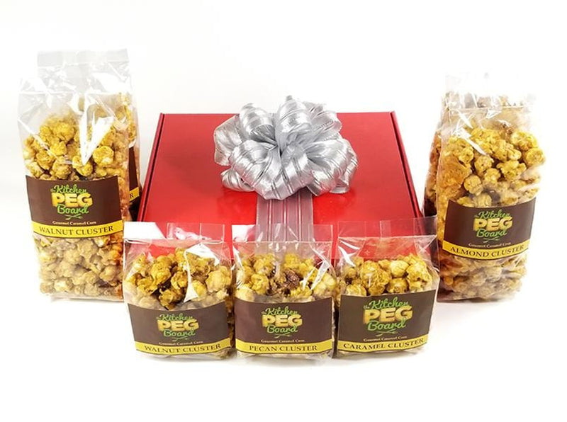 Red Gloss Popcorn Gift Box