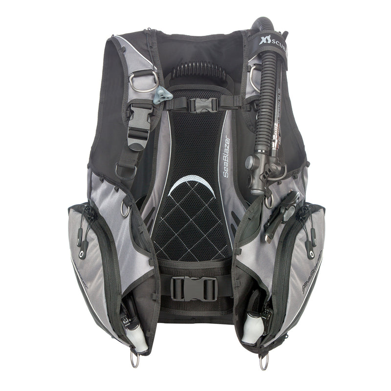 XS SCUBA BCD SeaBlazer Air Cell Wrap Around SS Cam Buckle, Catch N Release