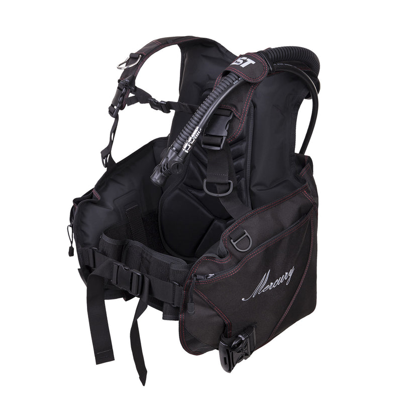 IST J-1700 Mercury Buoyancy Control Device (BCD) with Weight Pockets