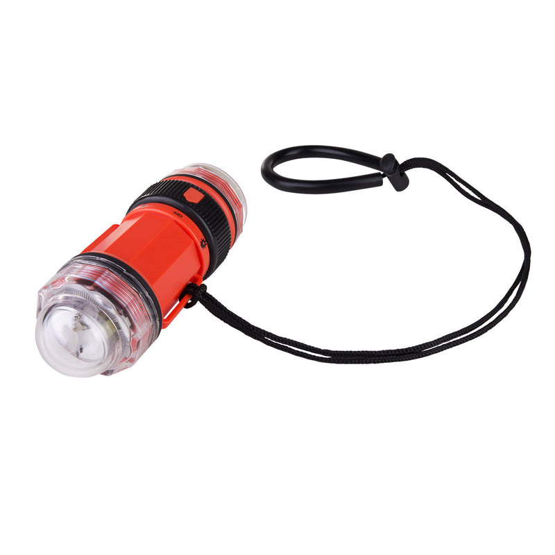 IST Combination Signal Strobe / Dive Torch, Waterproof to 130ft (40m)