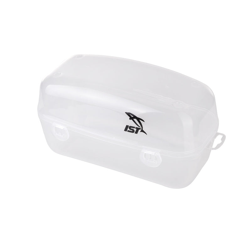 IST Standard Dive Mask Clear Plastic Hard Case with Snap Lock Closure