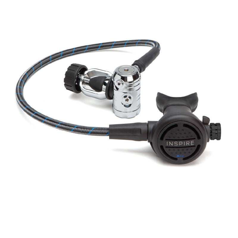 XS SCUBA Inspire Regulator Complete 1st 2nd Stage Balanced with 4 MP and 2 HP Ports
