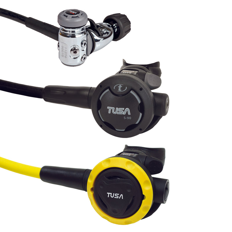 TUSA RS-790 Yoke Diaphragm Cold Water Regulator, SS-0001 Octopus Bundle