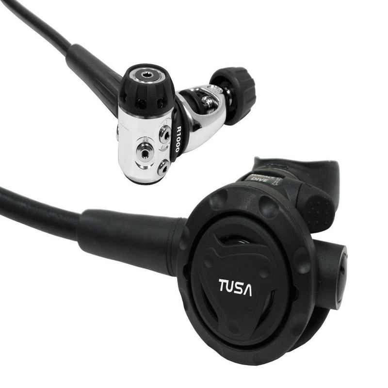 TUSA RS-1001 Balanced Diaphragm, Lightweight Yoke Style Regulator