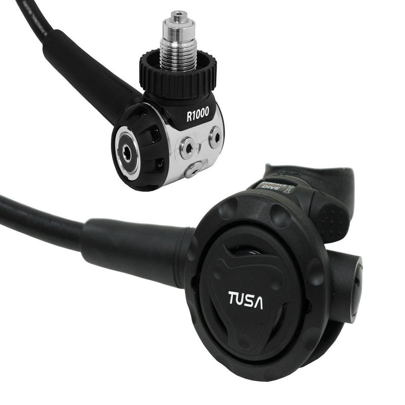 TUSA RS-1001 Balanced Diaphragm, Lightweight DIN Style Regulator