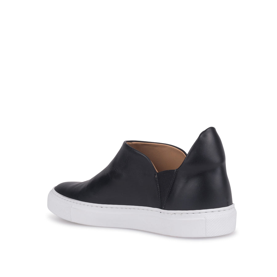 Zola Leather Slip Ons