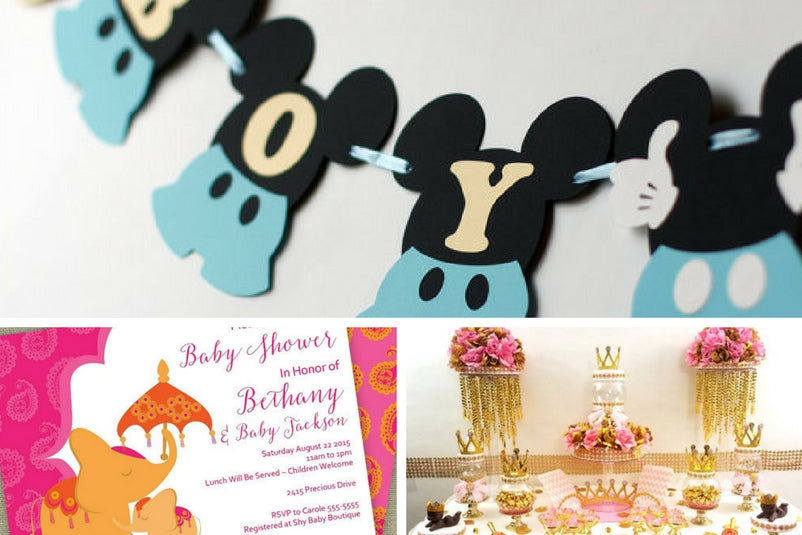 baby shower themes, newborn baby, baby shower registries, baby gifts