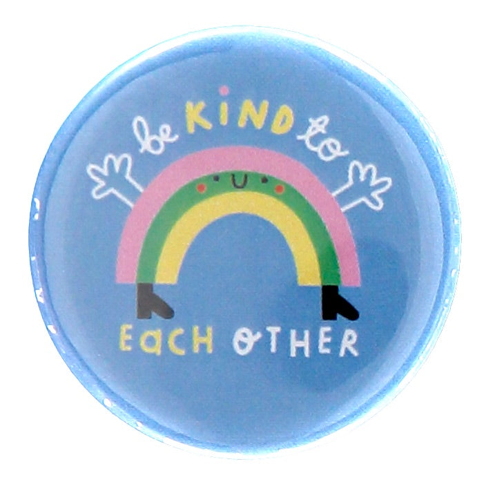 Rainbow Button Badge - The Kindness Co-Op Children's Clothing & Gifts
