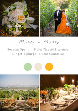 Mindy + Monty - Healdsburg I Wedding