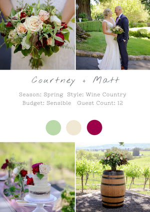 Courtney + Matt - Healdsburg III Ceremony