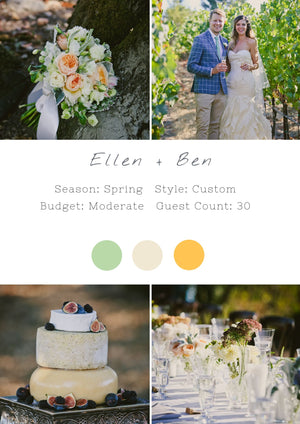 Ellen + Ben - Healdsburg I Wedding
