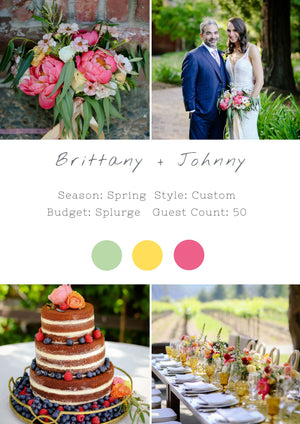 Brittany + Johnny - Napa I Wedding