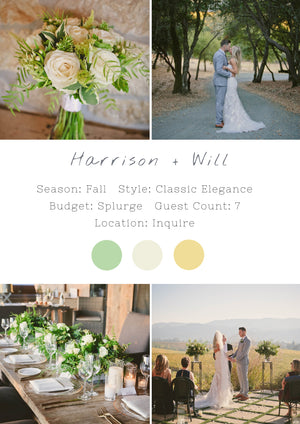 Harrison + Will - Healdsburg Wedding