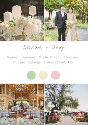 Sarah + Cody - Healdsburg Wedding