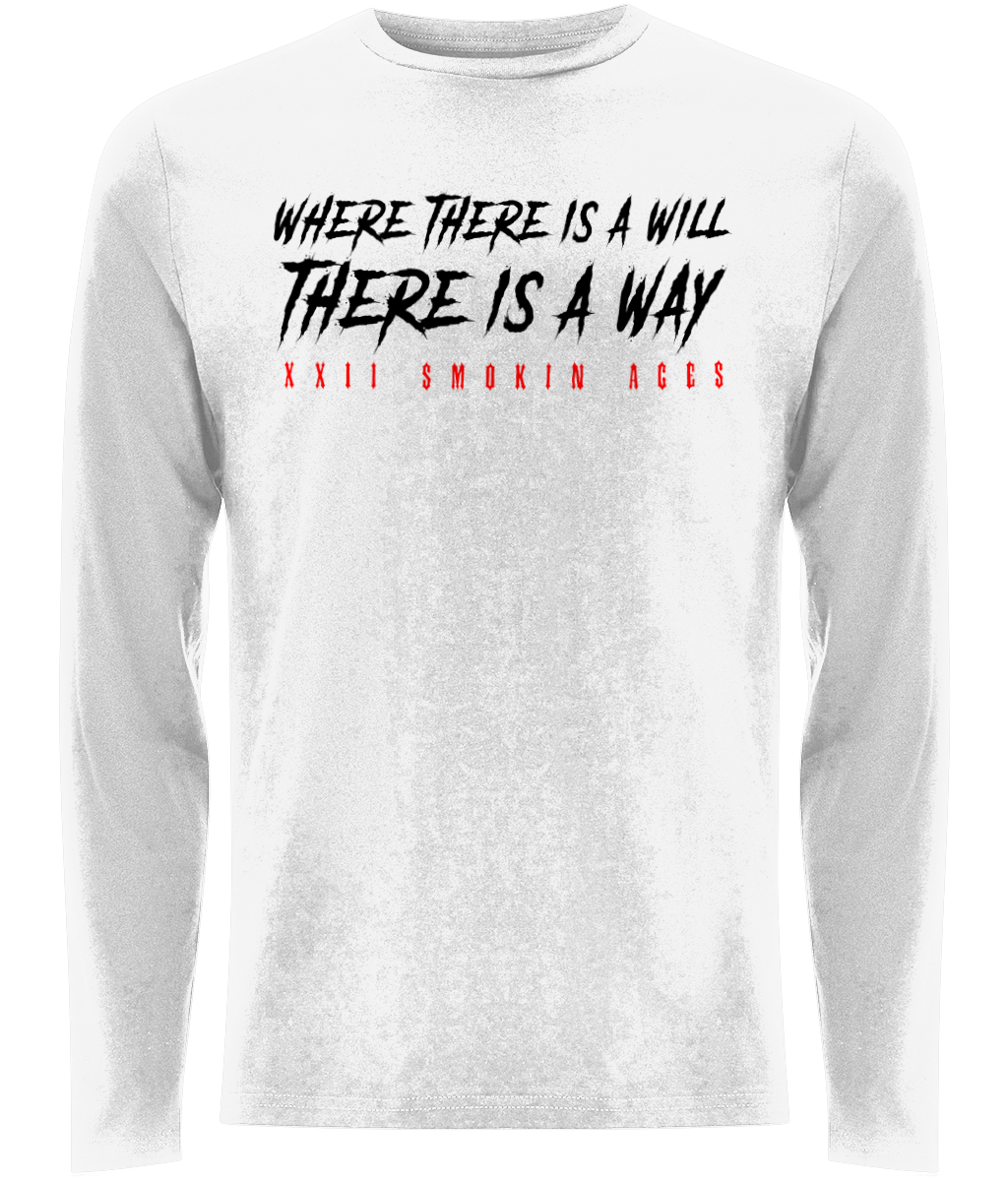 22 Smokin AceS - Where Will Way - Long Sleeved Tee