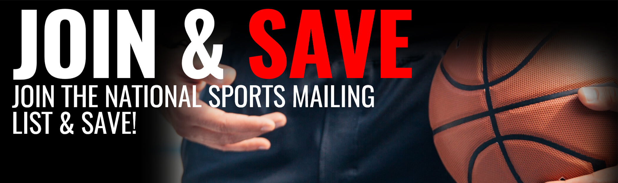 Join and save on the National Sports mailing list