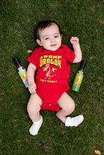 Baby red dragon onesie
