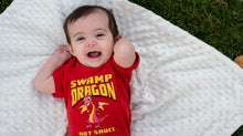 Happy baby dragon