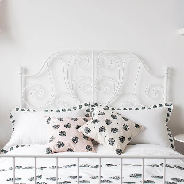 Jungle Leaf Green/Gold Duvet