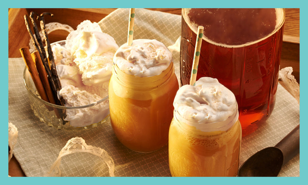 Sweet Tea Ice Cream Float Recipe