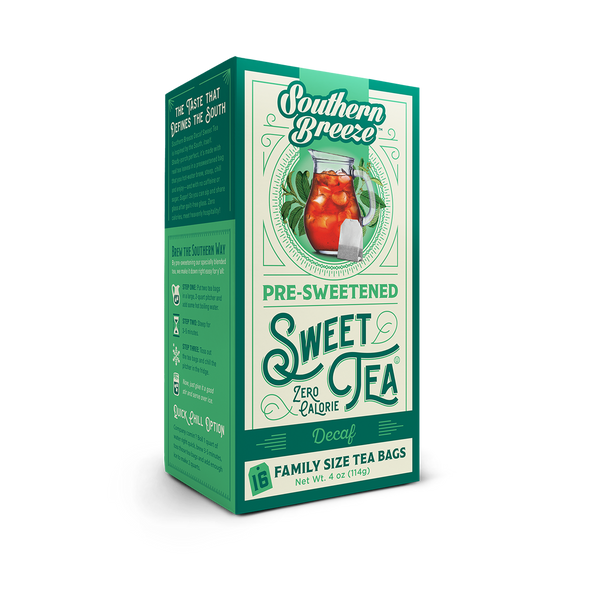 Decaffeinated Iced Sweet Tea